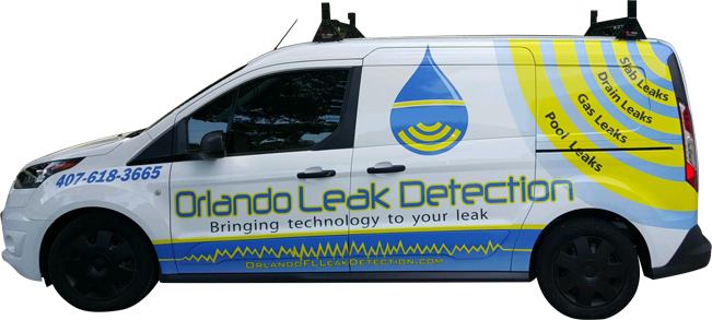 Water Leak Detection Service in Sanford FL - Orlando Leak Detection  - work-van2